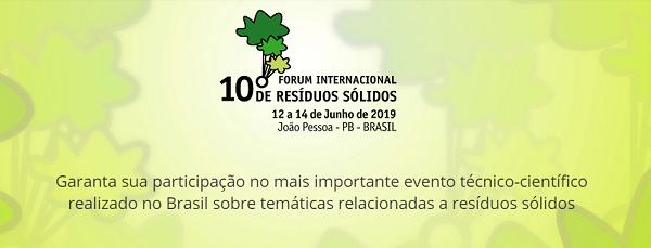 Garanta sua participação no mais importante evento técnico-científico realizado no Brasil sobre temáticas relacionadas a resíduos sólidos